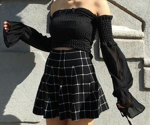 grunge, fashion, and black image