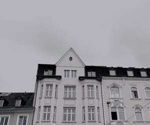 aesthetic, Houses, and cloudy image