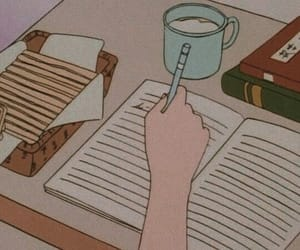 anime, aesthetic, and study image
