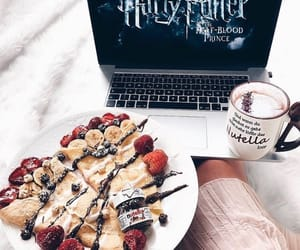 harry potter, nutella, and pancakes image