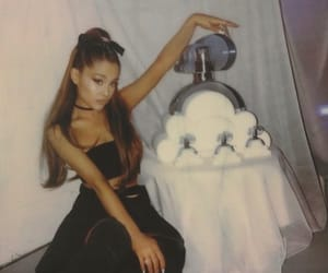 ariana grande, clouds, and sweetener image