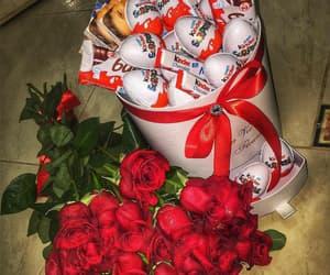 rose, kinder, and flowers image
