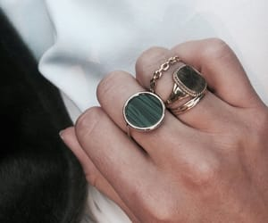 accessories, chic, and emerald image
