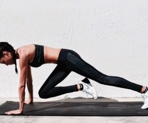 exercise, gym, and strong image