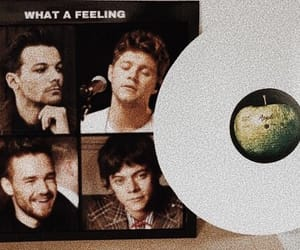 the beatles, what a feeling, and one direction image