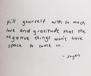 love, gratitude, and positive image