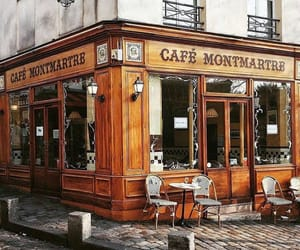 cafe, paris, and place image