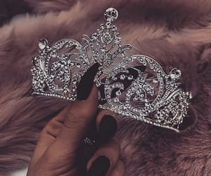 crown and girly image