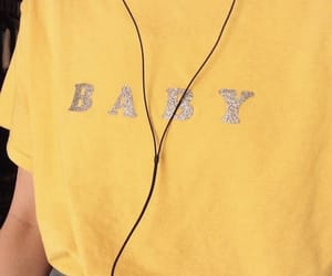 aesthetic, yellow, and clothes image