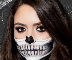 diy, Halloween, and make up image