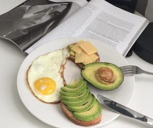 food, avocado, and breakfast image