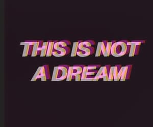 Dream, pink, and quotes image