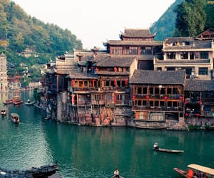 house and china image