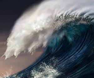 big wave, ocean, and stunning image