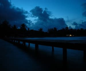 blue, night, and grunge image
