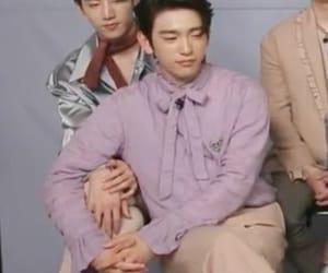 mark, jinyoung, and park jinyoung image