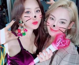 snsd, hyoyeon, and yuri image