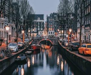amsterdam, city, and light image