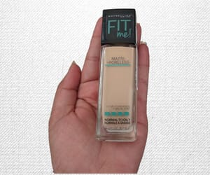 Maybelline, face makeup, and fit me image