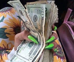 cash, nails, and dollars image
