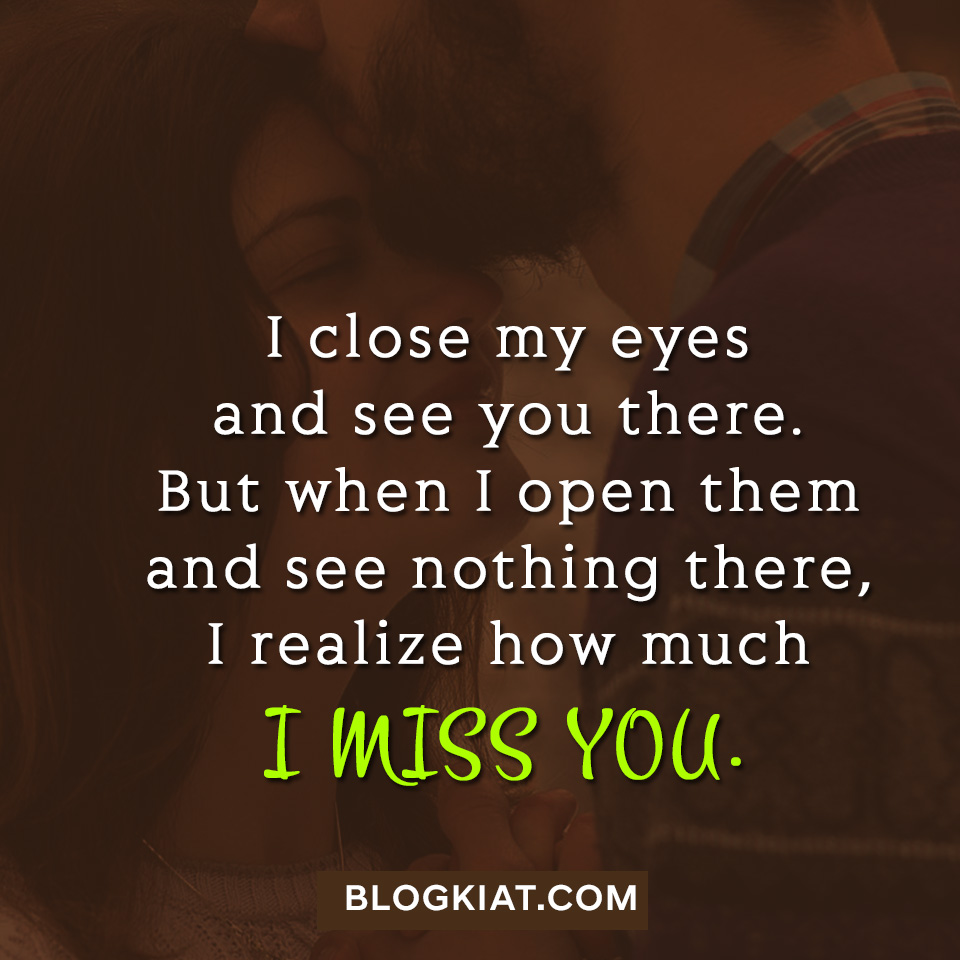 Cute I Miss You Quotes Blogkiat on We Heart It