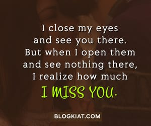 missing you quotes, i miss you quotes, and cute love quotes image