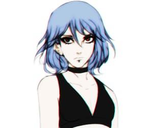 akatsuki, naruto, and blue hair image