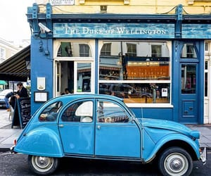 car, london, and Notting Hill image