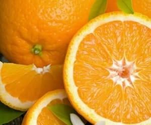 background, orange, and food image
