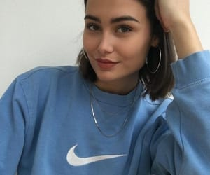 girl, aesthetic, and nike image