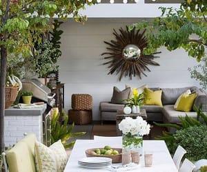belleza, terraza, and decoracion image