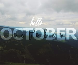 hello, mountains, and october image