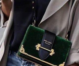 blogger, prada bag, and short jeans image