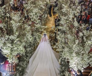 bride, Couture, and decoration image