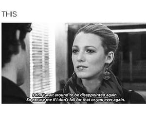 quotes, gossip girl, and this image