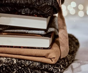 autumn, books, and clothes image