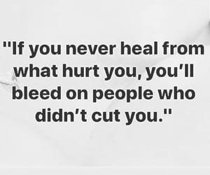 healing, heart, and hurt image