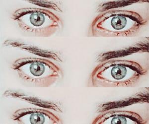 blue, blueeyes, and sad eyes image