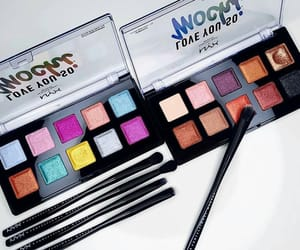 cosmetics, nyx cosmetics, and eyes palette image