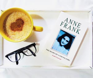 anne frank, livro, and second world war image