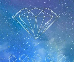 diamond, wallpaper, and we heart it image