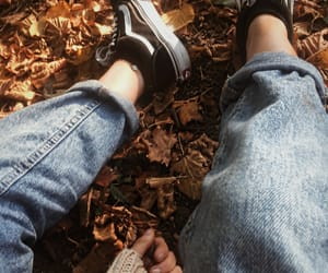 aesthetic, brown, and jeans image