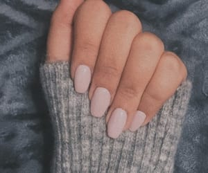 long, nails, and Nude image