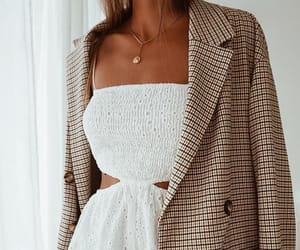 autumn, blazer, and jacket image
