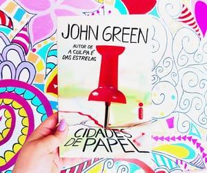 books, john green, and livro image