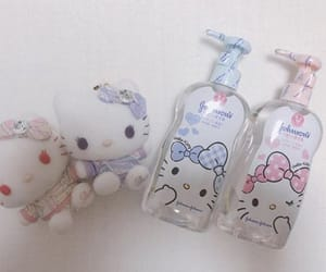 baby, hello kitty, and child image