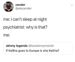 funny, kesha, and twitter image