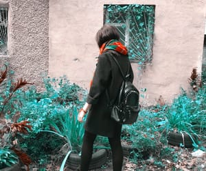 autumn, girl, and inspiration image
