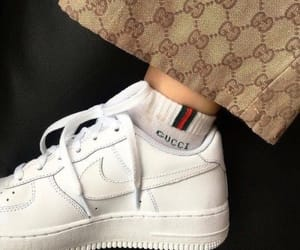 gucci, nike, and fashion image