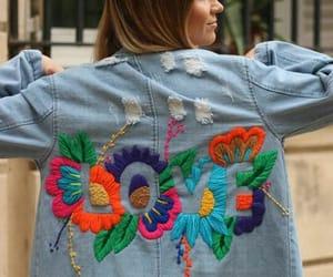 bordado, moda, and ropa image